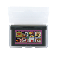 32 Bit Video Game Cartridge EG005 24 IN 1 Console Card US Version English Language Support Drop shipping