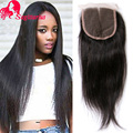 Cambodian Virgin Hair With Lace Closure 8A Cambodian Straight Virgin Hair Weave 3 Bundles With Closure Human Hair With Closure