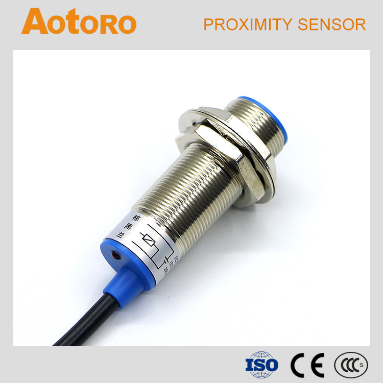 auto proximity switch FR18 5DP3 PNP NO NC inductive sensor 4 wires china brand 4 wire proximity switch wiring diagram efcaviation com 4 wire proximity switch wiring diagram at eliteediting.co