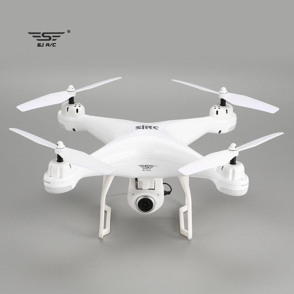 SJ R/C S20W FPV 1080 P Камера селфи высота Удержание Drone Headless режим автоматического возвращения крушение/посадка парение gps Радиоуправляемый квадрок...