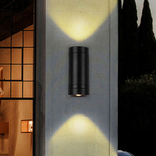 Up Down LED Outdoor Lighting Wall Light Lamp Exterior Outside Porch Light Waterproof IP65 Garden Wall Sconces Buitenverlichting