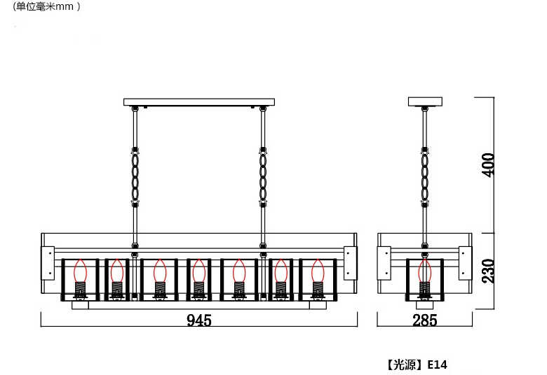 Скандинавский стиль лофт мраморная свеча Прямоугольник Деревянный светодиодный подвесной светильник для домашнего освещения подвесной светильник