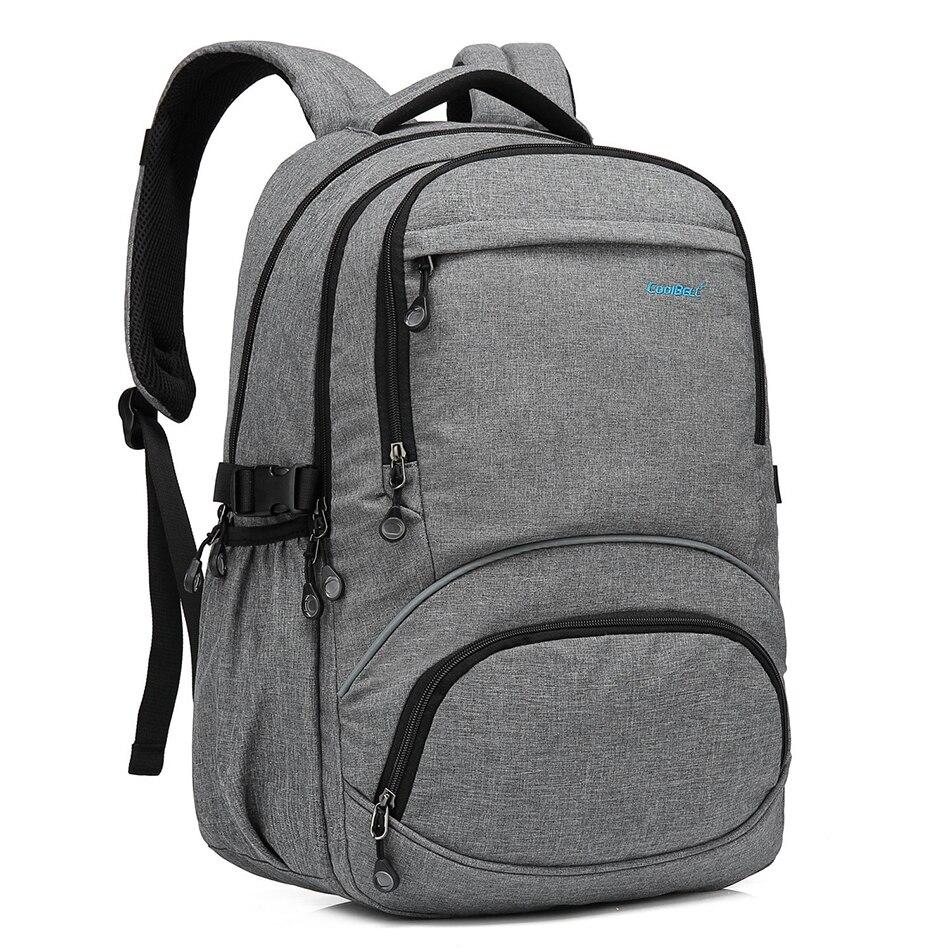 CoolBell Multifunction Waterproof Backpack Men Women Travel School Backpack Daypack Lightweight Notebook Bag For Macbook Air