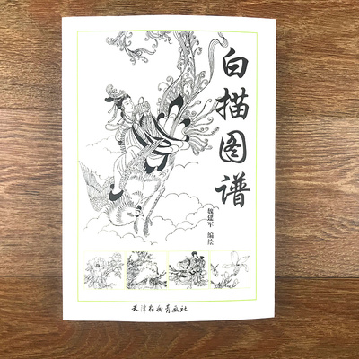 Traditional Chinese Painting Flower Orchid Bamboo Beauty Line Drawing Collection Coloring Book For Adults Drawing Art Book