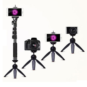 Image 2 - Photo YUNTENG 1288 Extendable Selfie Monopod With Bluetooth Remote+228 Tripod Phone Holder