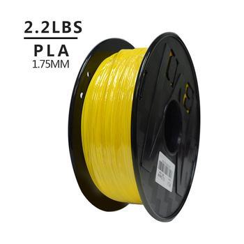 Cheap   Multi Color PLA Filament 1.75mm For 3D Printer 1KG Per Roll For Drop Shipping мини принтер 1