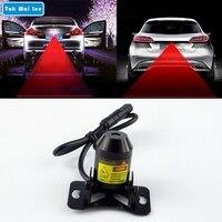 1Piece Set Car Warning Laser Tail Fog Light Auto Brake Parking Lamp Rearing Lights External Car
