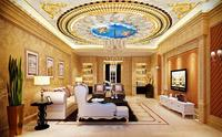 3d wallpaper European luxurious 3d ceiling wallpaper angel wallpapers for living room 3d ceiling wallpaper