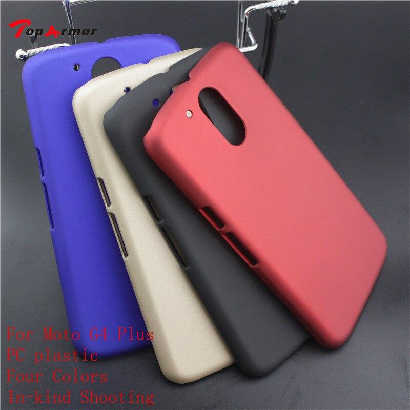 online retailer 99e6f 255bd Toparmor Motorola Moto G4 Plus Color Matte Rubberized Hard Case Cover For  Moto G4 Plus PC Plastic Phone Back Case