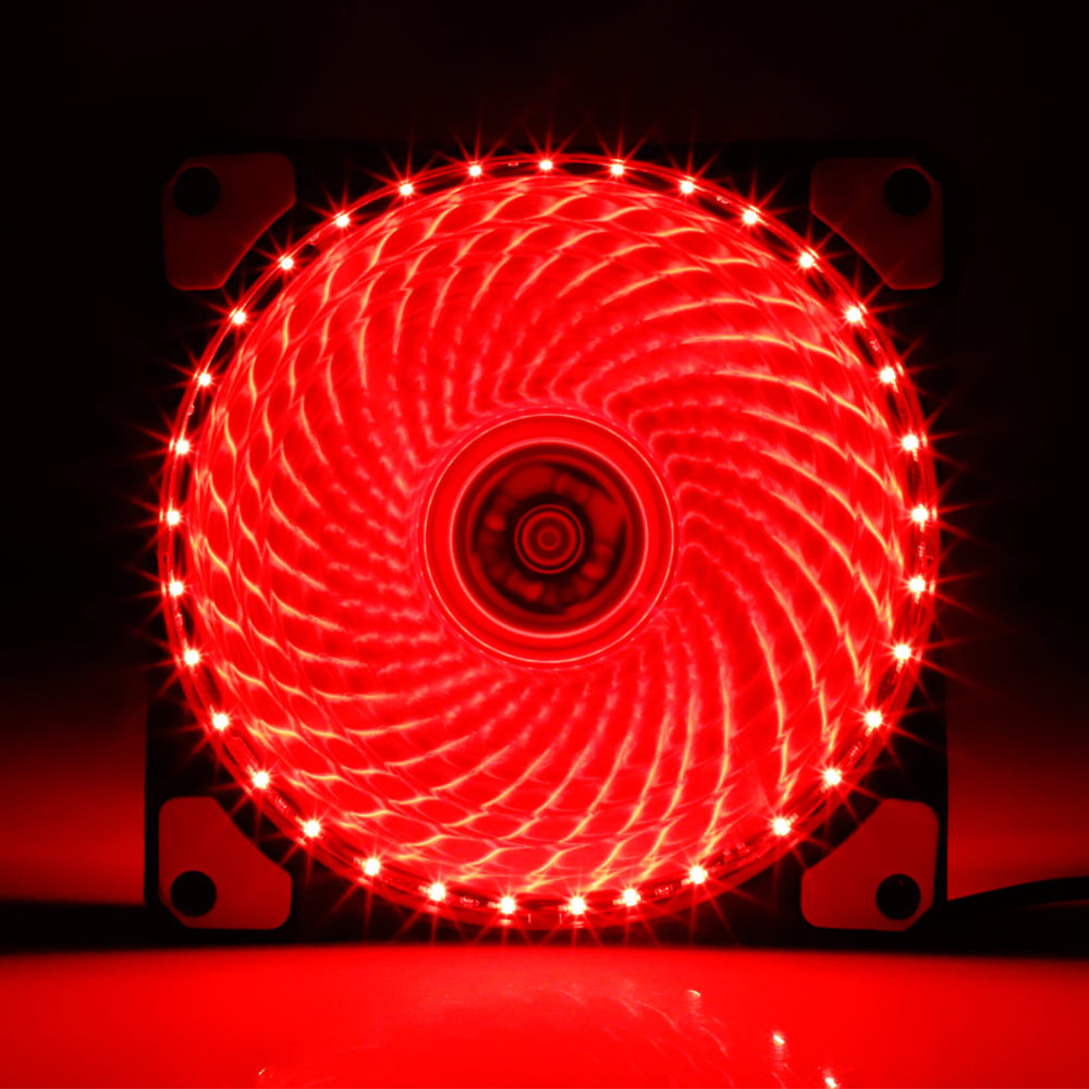 Hot Sale <font><b>120mm</b></font> LED PC <font><b>Fan</b></font> Computer <font><b>Cooling</b></font> <font><b>Fan</b></font> Cooler <font><b>Silent</b></font> Case Controller LED <font><b>Fan</b></font> Lights Adjustable Colour <font><b>Fan</b></font> for Computer image