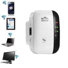 Беспроводной Wi-Fi роутер 2,4 GHzNetwork wifi повторитель 300 Мбит/с расширитель диапазона сигнала расширитель wifi Ap WPS шифрование ЕС вилка