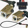 Genuine new laptop dc power jack soquete do conector do cabo de fio para o acer iconia tab a500 a501 a500-10s32c a500-a500-08s08u dc30100dx00