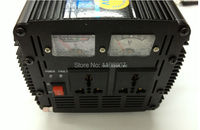 12V To 220V 3000W DC AC Home Power Inverter UPS Charging Solar Wind Energy System