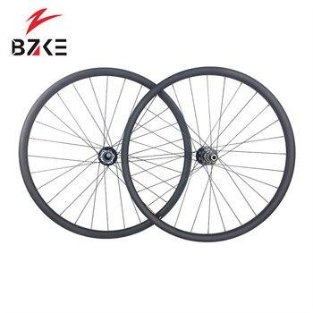 BZKE ruedas de carbono 36mm de ancho lefty 1,0 hub O L D Ruedas de bicicleta de montaña de carbono de 74mm, juego de ruedas de montaña de rayos carbón de 1420