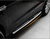 Car Aluminum alloy Running Board Side Step Nerf Bar Pedal For Ford Kuga Escape 2013 2014 2015 2016 Free Fedex
