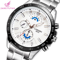 2015 LONGBO New Arrival Fashion Men Quartz Watches Luxury Brand Casual Watch Steel Wristwatches