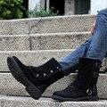 Nuevo otoño y el invierno 2014 de los hombres de tendencia de la moda Británica desierto botas Martin clásicos salvajes masculinos alta ayuda botas wholesale141105