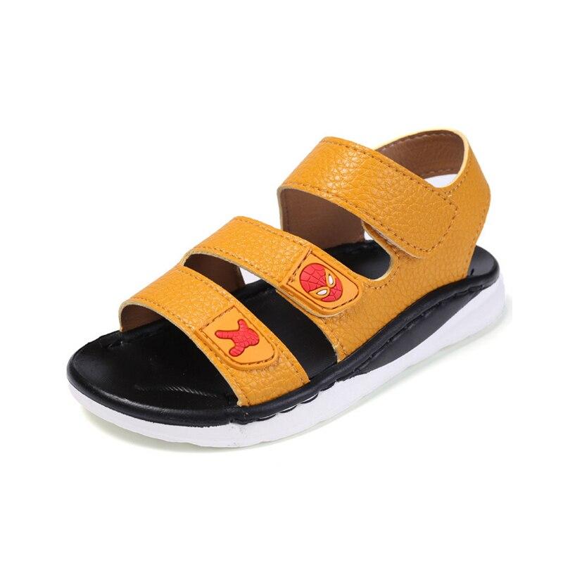 2018 New Summer Kids Fashion Beach Sandals Cute Children Big Child Students Sandals Soft Antislip Boys Girls Sandals