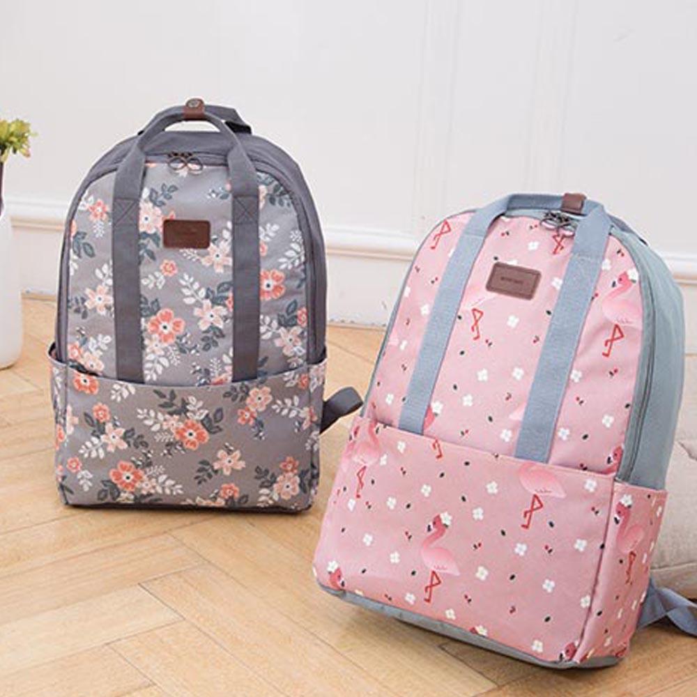 2018 Womens Travel Bags High Quality Womens Travel Backpack Waterproof nylon cloth bag organizer case essential