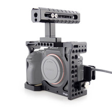 MAGICRIG DSLR Camera Cage with Top Handle + HDMI Cable Clamp For Sony