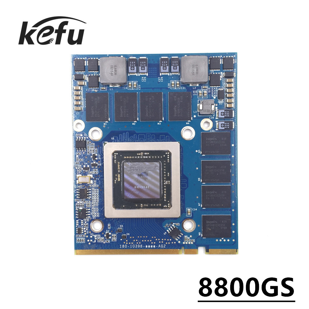 KEFU NVIDIA GeForce 8800GS Graphics Video Card 512MB for Apple iMac 24 A1225 661 4664
