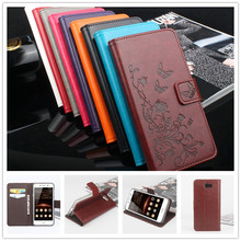 hot deal buy wallet case for huawei y5 2 / huawei y5 ii leather case magnetic phone case flip cover for huawei y5 ii with stand function