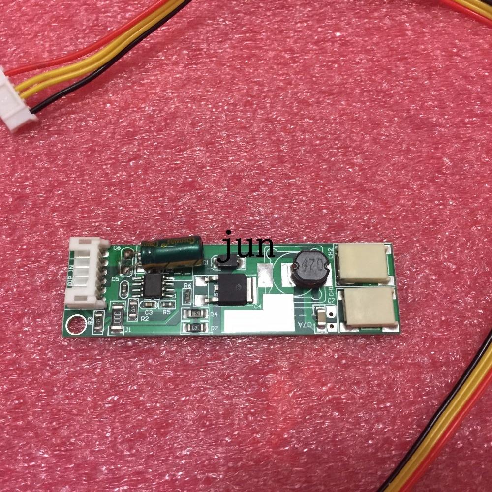 Universal Backlight Inverter LED Double Lamps Constant Current Driver Board Adjustable Light 9-30v Input 9-10V Output