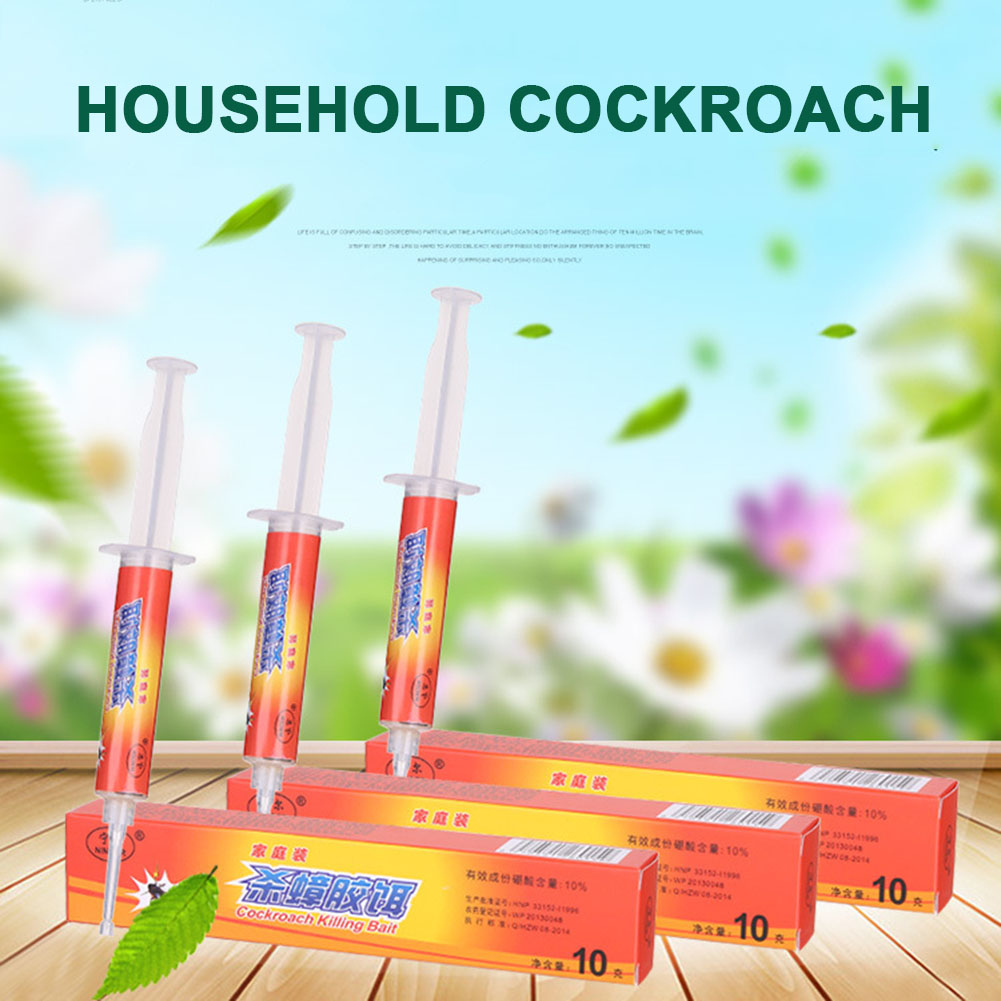 Roach Control Gel Bait Fipronil Safe Insecticide Efficient Powerful ...