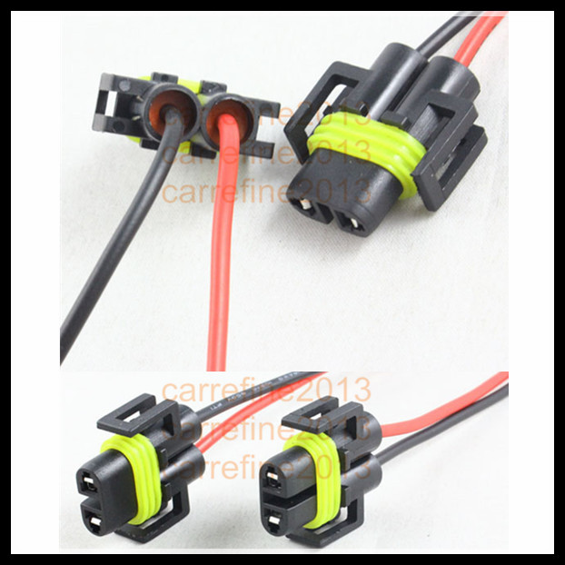 wiring harness plug promotion shop for promotional wiring harness h8 h11 hid led bulb holder h11 h8 881 xenon led fog bulb connector socket wiring harness socket wire connector plug