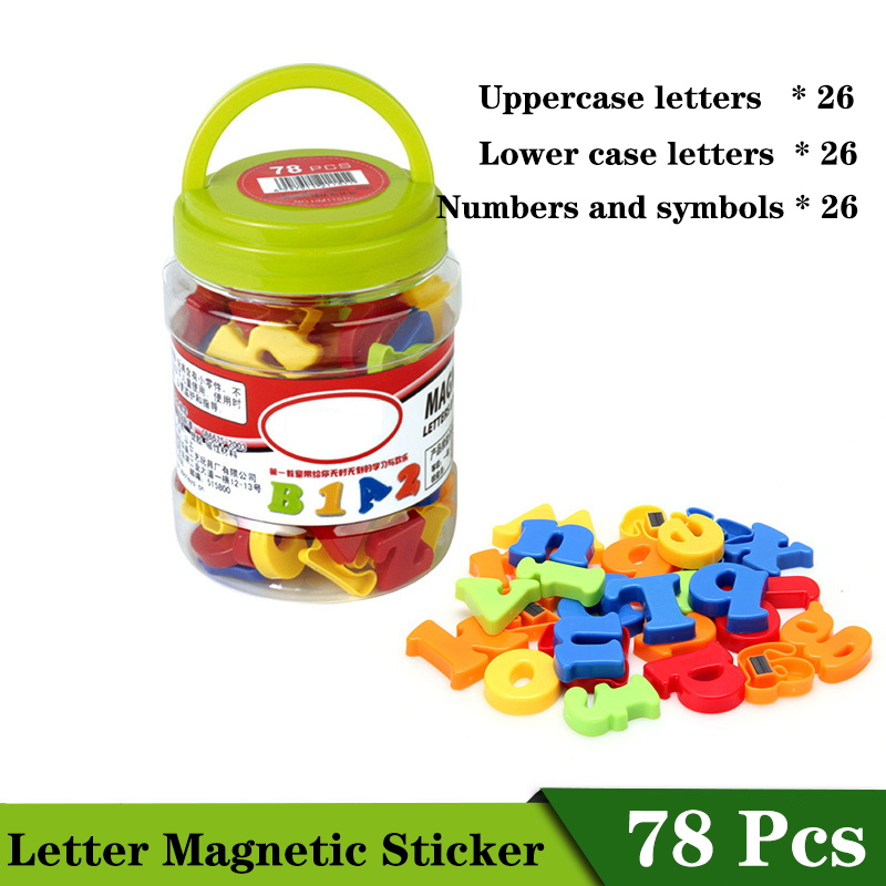 78Pcs/Set Montessori Number Letters Paste Digital Pinyin Case Magnetic Learning Educational Toys Magnetic Sticker Kid Toy Gift78Pcs/Set Montessori Number Letters Paste Digital Pinyin Case Magnetic Learning Educational Toys Magnetic Sticker Kid Toy Gift