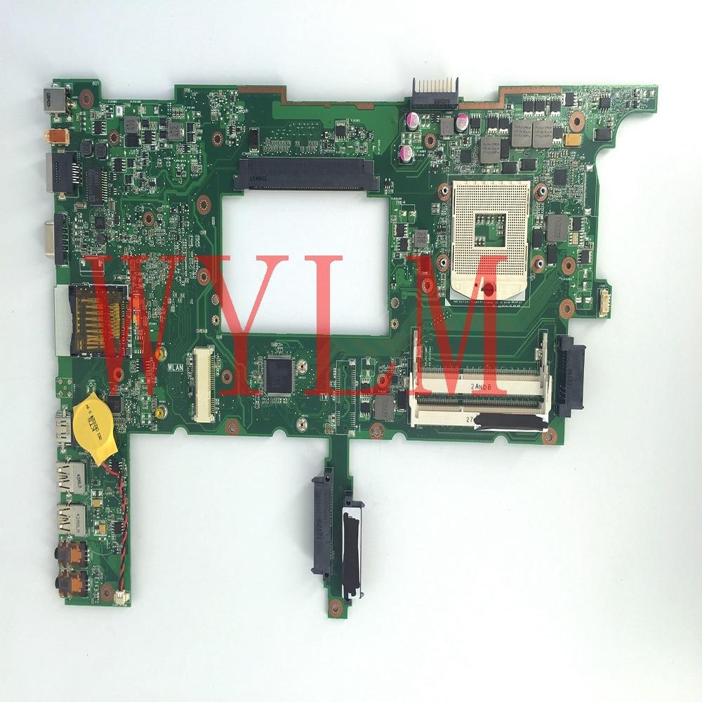 free shipping N75SF HM65 DDR3 mainboard REV2.2 For ASUS N75S N75SF N75SL laptop motherboard