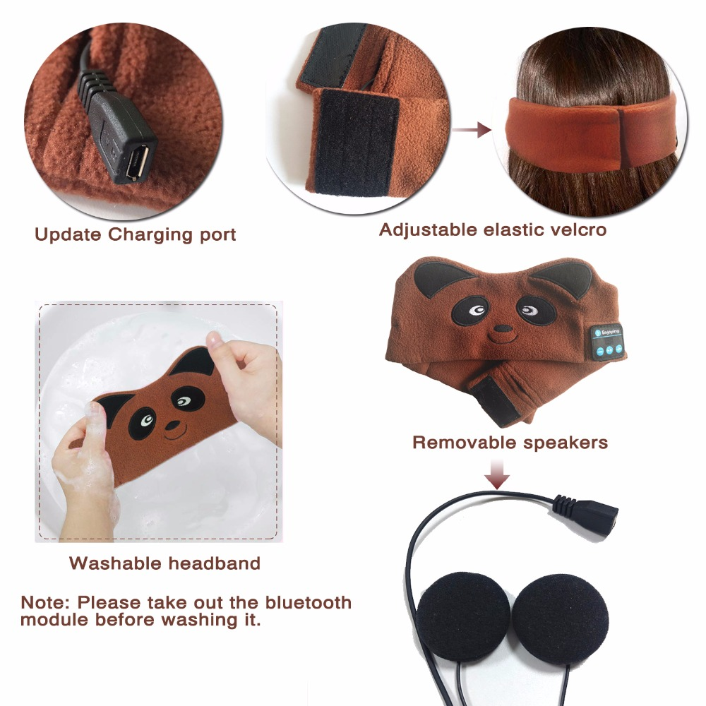 E4144-Bear Bluetooth Headphones (6)