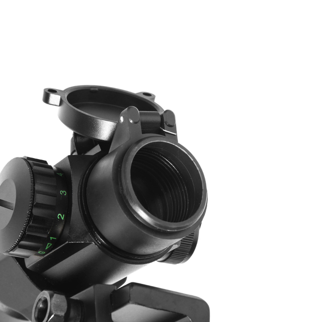 M3 Tratical 1x32 Red Dot Optical Sight With 20MM Rail Mount Riflescope Red/Green Dot Illumination Sight For Airspft Gun Red Dot