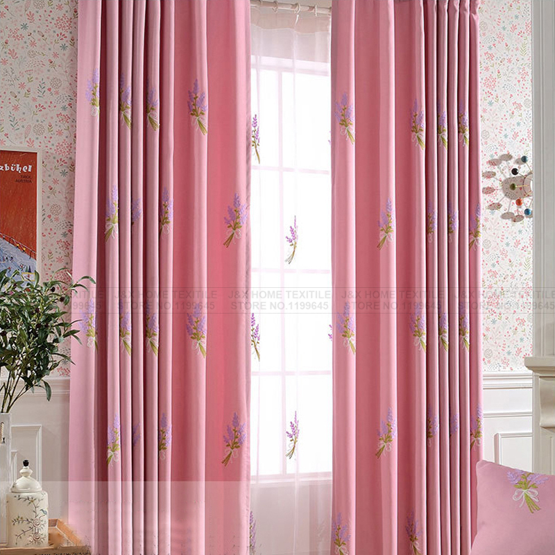Curtains fabric curtains cartoon embroidered cortinas para for Fabrics for children s curtains