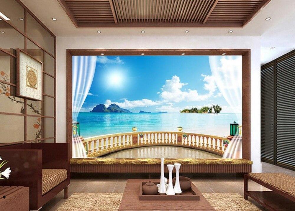 Papel pintado para paredes paisajes custom d wallpaper - Papel pintado paisajes ...