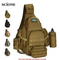 Molle Military Sling Bags Camping Backpacks Molle Travel Bag Belt Single Shouder Assault Outdoor Sports Nylon Computer XA575WA