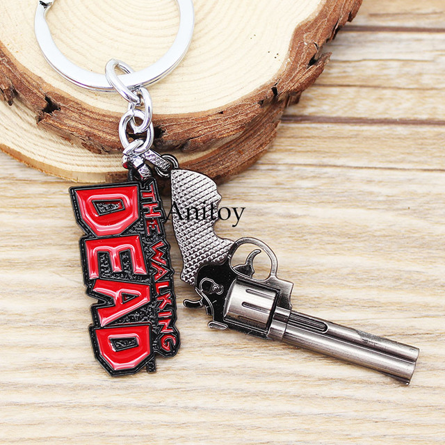 The Walking Dead Rick's Gun Keychain