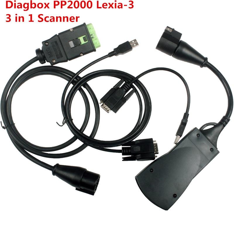 Newest Lexia3 Diagbox V7 83 PP2000 Diagnostic font b Tool b font Lexia 3 Scanner Automotive