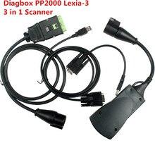 V7.83 más reciente Del Diagbox Lexia3 PP2000 Herramienta de Diagnóstico Lexia-3 Escáner Herramienta de Análisis de Diagnóstico Automotriz Escaner Automotriz Automotivo