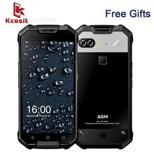 Original AGM X2 IP68 Rugged Waterproof Phone Android 7.1 5.5″FHD 6GB RAM 64GB ROM MSM8976SG Octa Core Dual Camera 12MP 6000mAh