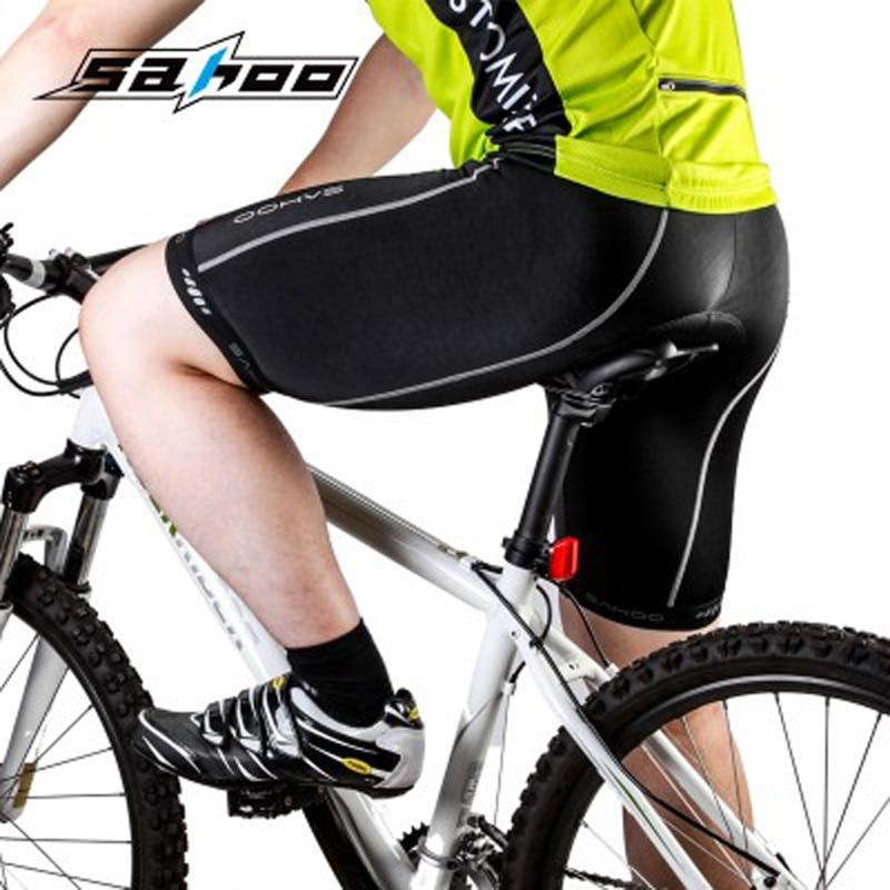 SAHOO Brand New Men Cycling Shorts 3D Padded Gel Riding Bike Cycling Underwear riding equipment riding shorts breathable pad