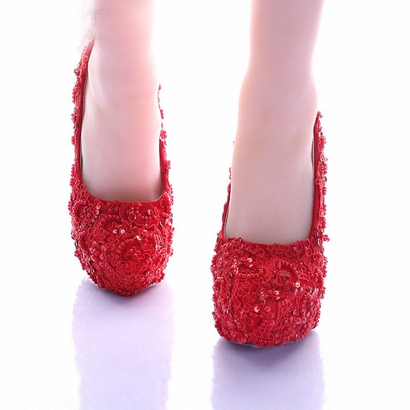 Vogue Mujeres brillantes Zapatos de Novia de La Novia Elegante ...