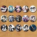 58 MM Black Butler Ciel Phantomhive Sebastian Michaelis cosplay Pin Badge BOTÕES Anime Coleções ícone Para Roupas Chapéu Mochila