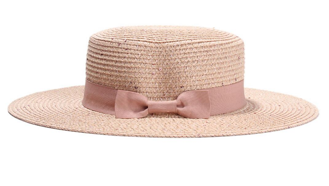 5ff0e13d1cb Buy black straw boater hat and get free shipping on AliExpress.com