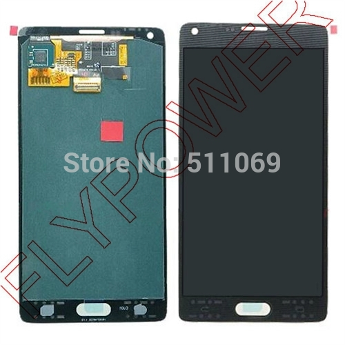 For Samsung For Galaxy Note 4 N9100 LCD Screen Display with Touch Screen Digitizer Assembly by free DHL,UPS or EMS; Gray; HQ универсальные ключи