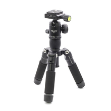 XILETU FM5-MINI Mini Multifunctional Tabletop Tripod Aluminum Alloy Portable Bracket Ballhead for Cellphone Gopro DSLR Camera