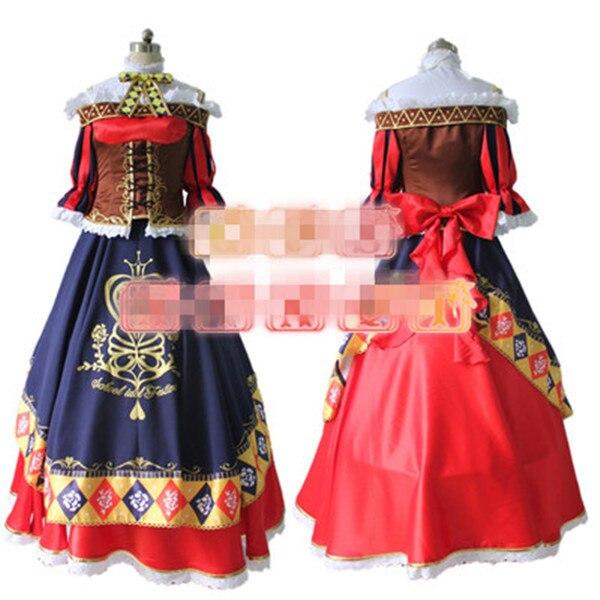 Anime Love Live! Minami Kotori Magicien École Idol Projet Réveiller Uniformes Cos Cosplay Costume Robe