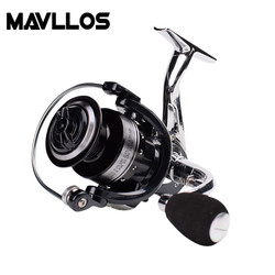 Mavllos darmowa wysyłka karpia 13BB stosunek prędkości 5.0:1 składany uchwyt EVA wysokiej jakości wędkarski kołowrotek morski