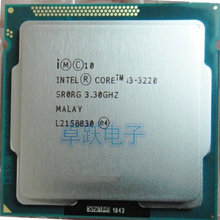 Free shipping original Intel Core i3-3220 i Processor 3M Cache, 3.30 GHz LGA1155 Desktop i3 3220 CPU
