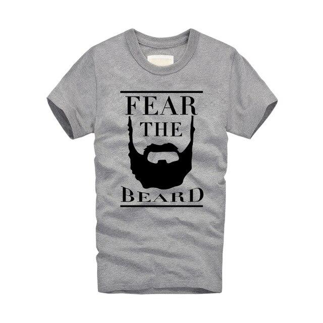 5b6607e1a2a8 2018 New Brand Fashion T shirts James Harden Fear the Beard Printed Cotton T  Shirts O Neck Men Short Sleeve Street Creative Tops